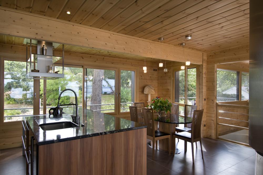 Bretagne for Holzblockhaus modern